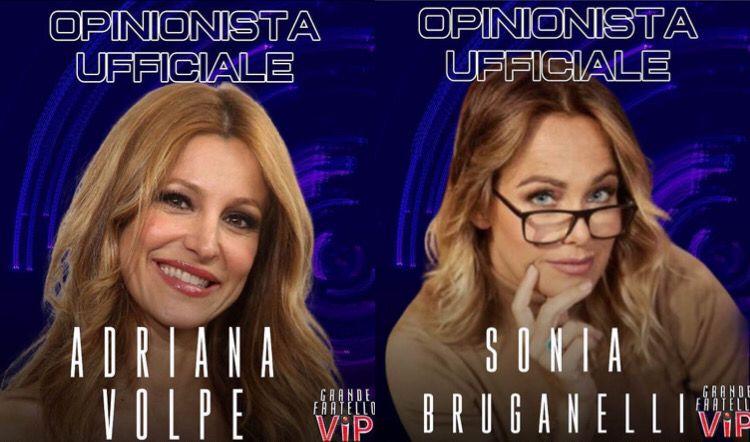 GF-Vip-6-,-prima-lite-tra-Sonia-Bruganelli-e-Adriana-Volpe-:-l-'-episodio
